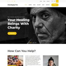 CharityUp Pro – WordPress Charity Theme